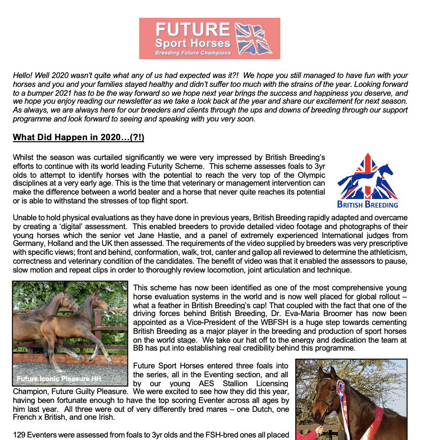 Download our 2021 Newsletter!